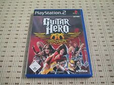 Guitar Hero Aerosmith pour playstation 2 ps2 ps 2 * OVP *