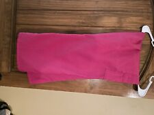 Wonder Wink scrub pants, size L, Pink