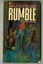 RUMBLE by Harlan ELLISON! Rare Vintage 1963 Pyramid Paperback!