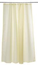 Manna Waterproof Weighted Splash Proof Bathroom Shower Curtain & Hooks 180cm X