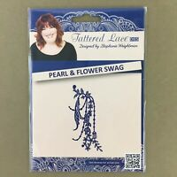 Tattered Lace metal cutting die Pearl & Flower Swag new