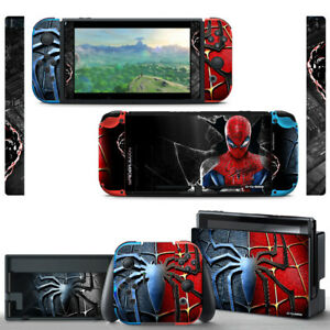 Ci-Yu-Online Spider Man VINYL Joy-Con SKIN Screen Protector for Nintendo Switch