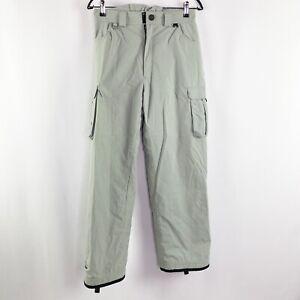 TWIST Girls Light Gray Snowboarding Pants Gen Tech Fabric Size S