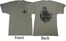 "Men's T-Shirt Explosive Ordnance Disposal EOD Bomb Medium Fits Small 36"""