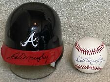 Dale Murphy LOT - Signed Mini Helmet & Baseball - Atlanta Braves MVP 82 83 ROMLB