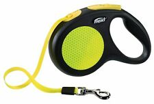 Flexi New Classic Neon Reflektor Automatikleine Rollleine Hundeleine Neonfarben