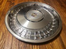 """(1) OEM 1986-93 Cadillac Fleetwood Brougham RWD 15"""" Deluxe Hubcap Wheel Cover #F"""