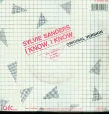 "7"" Sylvie Sanders/I Know I Know (D) Schrift"