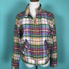 Lauren Ralph Lauren Active Plaid Windbreaker Jacket Size M