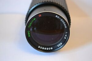 Tokina   80 - 200 mm 1:4.5  close focus  Lens  OM
