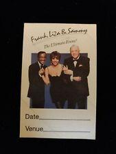 Vip Pass Frank Sinatra - Liza Minelli - Sammy Davis Jr Ultimate Event 1990s