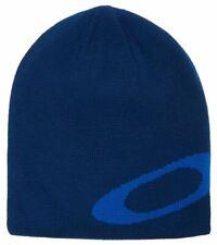 OAKLEY FACTORY ELLIPSE BEANIE HAT MX GENUINE OFFICIAL COLOUR DARK BLUE