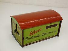 !!! Schuco Box Garage 3010/30 Roof Light Brown, Excellent Condition!!!