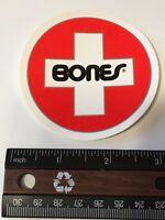 Bones Swiss, Skateboard Sticker, Manufacturers Original,  Series 1048-11182018