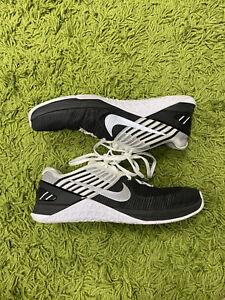 Nike Metcon DSX Flyknit Black White Workout Crossfit Shoes US Men's Size 10