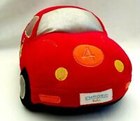 Emporio Kids Boy Red Car Plush Soft Doll Pillow Decor Stuffed Toy Collectible