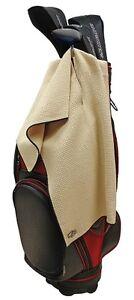 Club Glove Single Caddy Towel - Oat