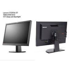 "22"" TFT LCD LENOVO LT2252p Pivot 1680 x 1050 LED-Backlight A-Ware + CABELS"