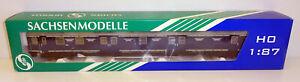 """Sachsenmodelle H0 78813 Bahnpostwagen """"Eisenbahn Kurier"""" 1:87 OVP JU358"""