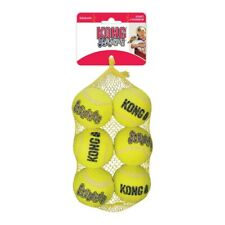 NEW KONG AirDog Squeaker Balls Medium 6 pack. Dog Toy Tennis Ball 6 pack