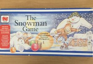 The Snowman Board Game 1987 PIC Vintage Rare