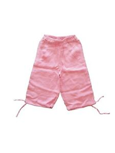 NEW OILILY GIRLS PINK 100% LINEN PANTS 92 98 128