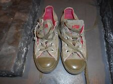 RARES CONVERSE ALL STAR KAKI ROUGE COLLECTOR T 35 A 12€ ACH IMM FP RED MOND