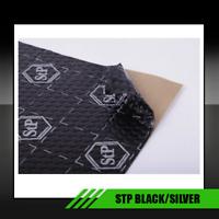 INSONORIZZANTE ANTIVIBRAZIONE PER AUTO STP Black Silver 750x500x1,8 mm  1PZ