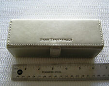 Bare Escentuals Pale Gold Faux Leather Makeup Bag Case Free US Shipping