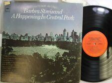 Rock LP Barbra Streisand A Happening In Central Park sur Columbia