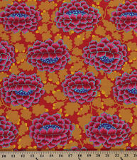 Cotton Kaffe Fasset Frilly Flowers Flower Cotton Fabric Print by Yard D302.18