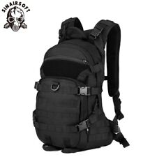 Tactical Riding Backpack 25L Molle Military Shoulder Bag Hiking Rucksack Camping