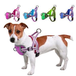 Soft Padded No Pull Dog Chest Harness Reflective Breathable Adjustable Dog Vest