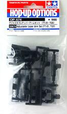 Tamiya 53674 (OP674) Adjustable Upper Arm Set (TT-01, TGS)