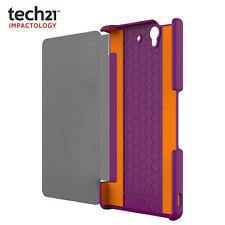 SONY XPERIA Z t21-3300 Tech21 impatto Snap Case Cover con D3O   VIOLA