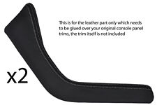 WHITE Stitch accoppiamenti BMW Z3 95-03 2x tagliare pannelli in pelle copre soltanto bisogno di COLLA