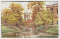 Cambridgeshire postcard - The Backs & St John's Chapel. Cambridge - ARQ 1565