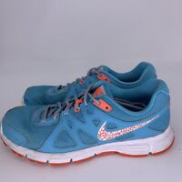 Nike Revolution 2 Trainer Running Sneakers Shoes Sz 9 Blue 554900-411 Womens