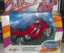 MAISTO 2-WHEELERS HONDA NR MOTORCYCLE DIE CAST 1:18 NIP New Vintage Classic HTF