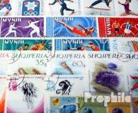 Albanien 50 verschiedene Sondermarken