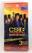New Sealed CSI Miami Booster Pack 3 Crime Stories The Board Game or On Its Own