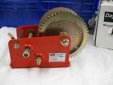 Dayton Hand Winch Spur Gear No Brake 1800 lb 12U361