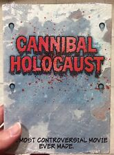 CANNIBAL HOLOCAUST Deluxe Edition SISSY SLIPCOVER Sealed BANNED! Ruggero Deodato