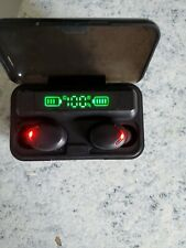 Bluetooth Wireless Earbuds with Ac Adaptor