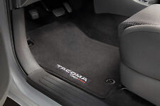 Set of 4 Genuine Toyota TRD Pro Carpet Floor Mats for the 2015 Toyota Tacoma-New