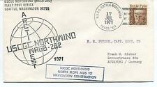 1971 USCGC Cutter Northwind WAGB-282 Deepfreeze Seattle Arctic West Polar Cover