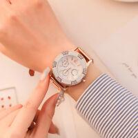 Elegant Women Fashion Stainless Steel Watch Casual Quartz Bracelet Wrist Watch