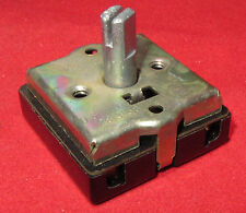 Tower Mfg Rotary Switch 4 Position, 120V - 240V, 3A 6A Fan Heater Speed Selector