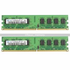 Samsung 4GB 2x 2GB PC2-6400 DDR2-800MHZ   DIMM Desktop PC Speicher INTEL + AMD