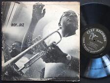 DIZZY GILLESPIE ROY ELDRIDGE Roy And Diz LP CLEF MGC-641 DG MONO Oscar Peterson